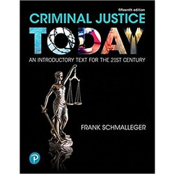 NEW || SCHMALLEGER / CRIMINAL JUSTICE TODAY (LOOSE-LEAF) 15th