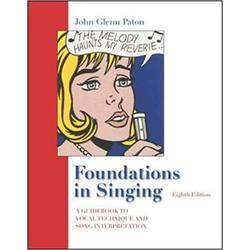 USED    PATON / FOUNDATIONS IN SINGING (W/KEYBOARD & CHORD BUILDER)
