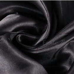 60X102 SATIN TABLECLOTH- BLACK