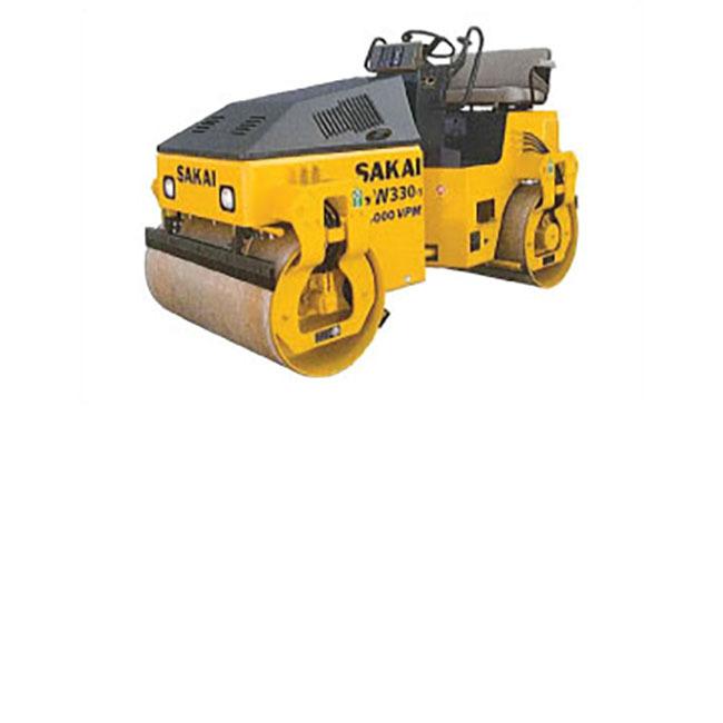 Sakai SW330 Double Drum Vibratory Roller, 3.5 ton, 39