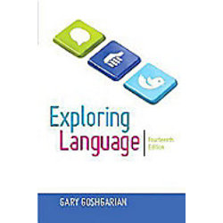 USED || GOSHGARIAN / EXPLORING LANGUAGE