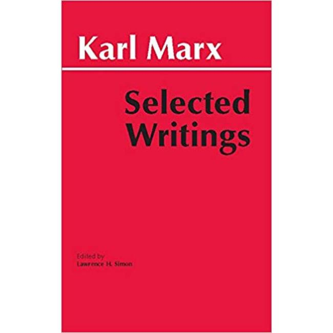NEW || MARX / SELECTED WRITINGS