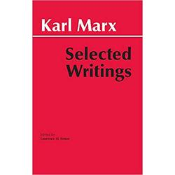 NEW || MARX / SELECTED WRITINGS