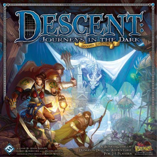 Descent Journeys in the Dark
