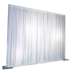 White-8 ft high Pipe and Drape ($2.50 per linear ft)