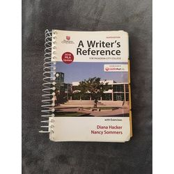 USED || HACKER / WRITER'S REFERENCE W/MLA (8th PCC)