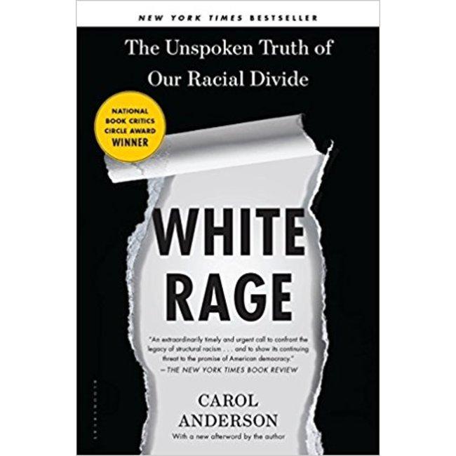 NEW    ANDERSON / WHITE RAGE