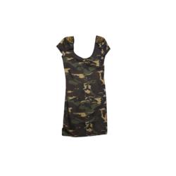 Camo Spike dress