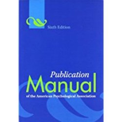 Used| AMER PSYCH ASS / PUBLICATION MANUAL (2ND PRTG OR LATER)| Instructor: PAGE