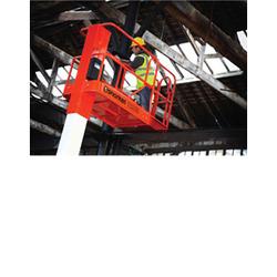 SNORKEL TM12 Platform,12' scissor lift