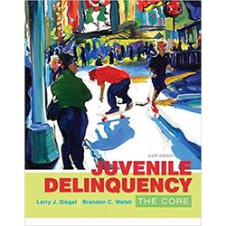 USED || SIEGEL / JUVENILE DELINQUENCY: THE CORE
