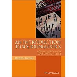 NEW || WARDHAUGH / INTRO TO SOCIOLINGUISTICS