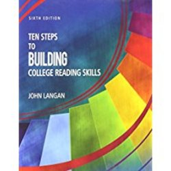 Used| LANGAN / TEN STEPS TO BLDG COLLEGE READING SKILLS 6th | 1591944643