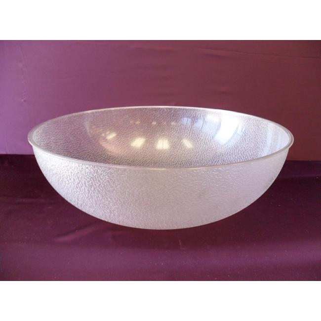 Large Salad Bowl- Clear