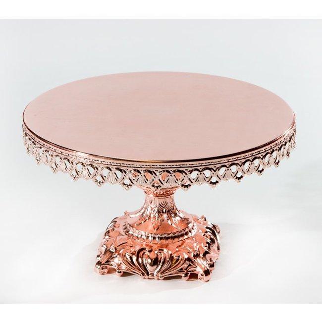 Cake Stand- rose blush