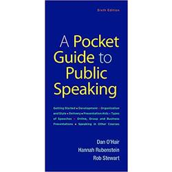 NEW || OHAIR / POCKET GUIDE TO PUB SPEAKING 6th