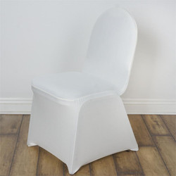 SPANDEX CHAIR COVERS- IVORY