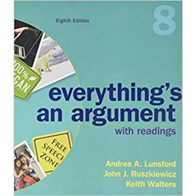 USED || LUNSFORD / EVERYTHING ARGUMENT W/RDG 8 ED