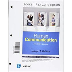 USED || DEVITO / HUMAN COMMUNICATION (14th LL)