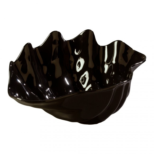 Large Salad Bowl- Black Shell