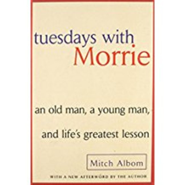 NEW    ALBOM / TUESDAYS WITH MORRIE W/NEW AFTERWORD