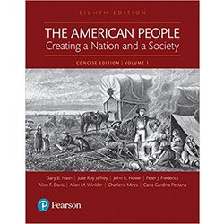 USED || NASH / AMERICAN PEOPLE CONCISE VOL ONE (8th LL)