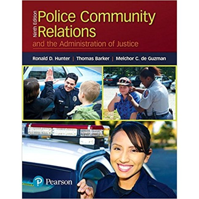 USED| HUNTER/ POLICE-COMMUNITY RELATIONS AND THE ADMINISTRATION OF JUSTICE  9TH