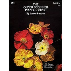 NEW || BASTIEN / OLDER BEGINNER PIANO COURSE LVL 2 (PURCHASE ONLY)
