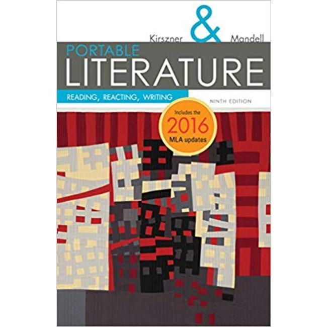 USED || KIRSZNER / PORTABLE LITERATURE 2016 MLA UPDATE ED