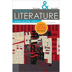 USED || KIRSZNER / PORTABLE LITERATURE 2016 MLA UPDATE ED