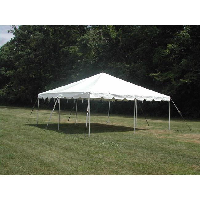 Frame Tent 20x20 White