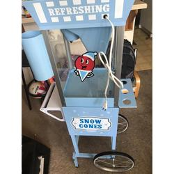 SNO CONE MACHINE (BLUE)