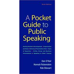 USED || OHAIR / POCKET GUIDE TO PUB SPEAKING 6th