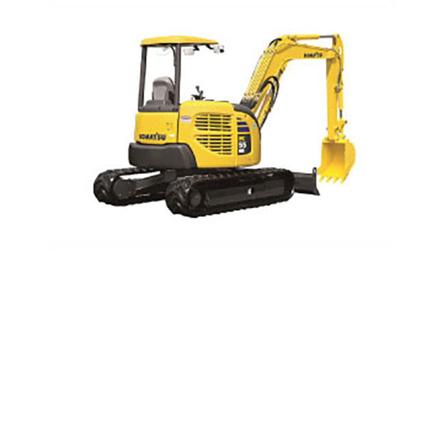 Komatsu PC55 Compact Excavator, 19,100 lb, and comparable models