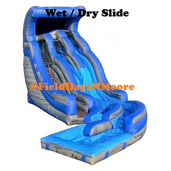 20' Dual Lane Water Slide (Wet)