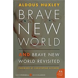 USED || HUXLEY / BRAVE NEW WORLD & BRAVE NEW WORLD REVISITED P.S. ED