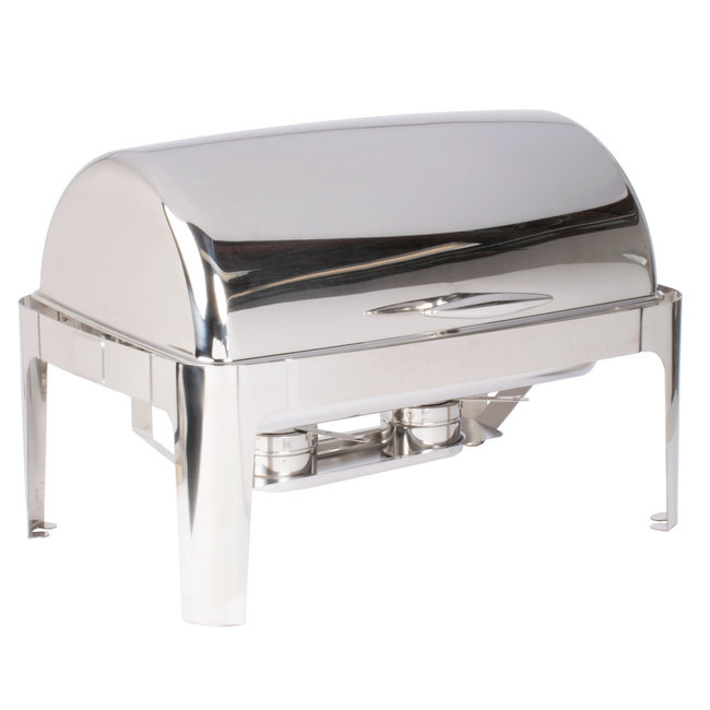 Chafing Dish- Rectangle Roll Top