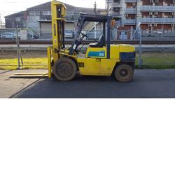 Komatsu FD35 Forklift, 7,000 lb cap