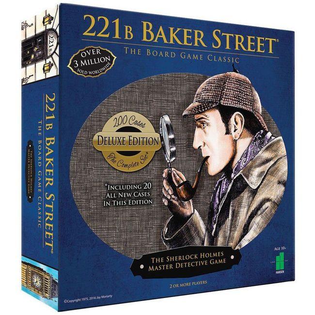 221B Baker Street The Sherlock Holmes Master Detective Game