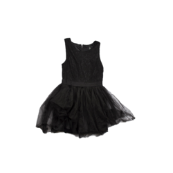 Black Tull dress