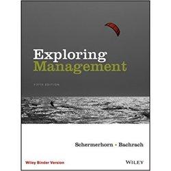 NEW || SCHERMERHORN / EXPLORING MNGMNT LOOSELEAF (5th)