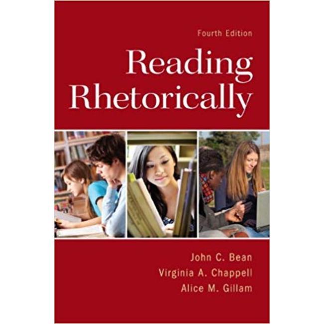 USED    BEAN / READING RHETORICALLY