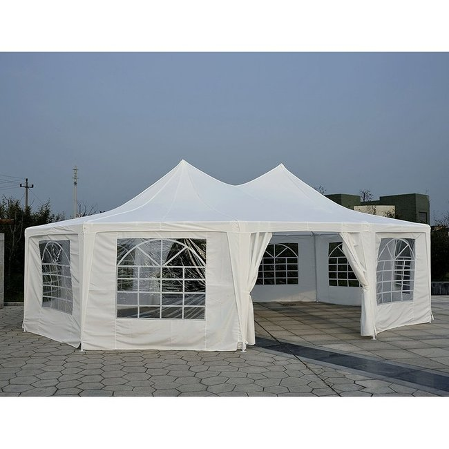 29 x 21 octagonal party tent
