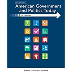 USED| BARDES/AMERICAN GOVERNMENT & POLITICS TODAY :THE ESSENTIALS 2017-2018 ED