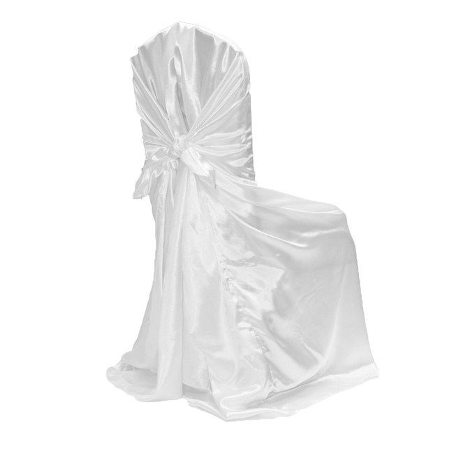 White Universal Chair Covers