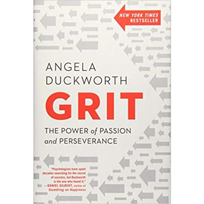 NEW    DUCKWORTH / GRIT: THE POWER OF PASSION & PERSEVERANCE