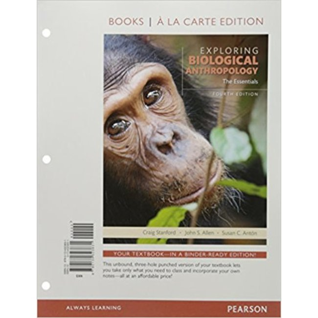 USED || STANFORD / EXPLOR BIOLOGICAL ANTHRO LL