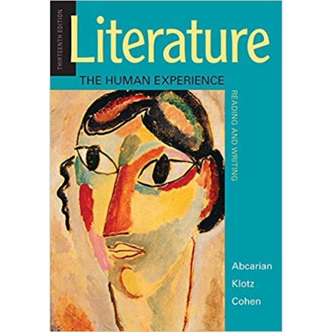 NEW || ABCARIAN / LITERATURE: HUMAN EXPERIENCE 13ED