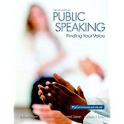 Used| OSBORN / PUBLIC SPEAKING| Instructor: GALLEGOS