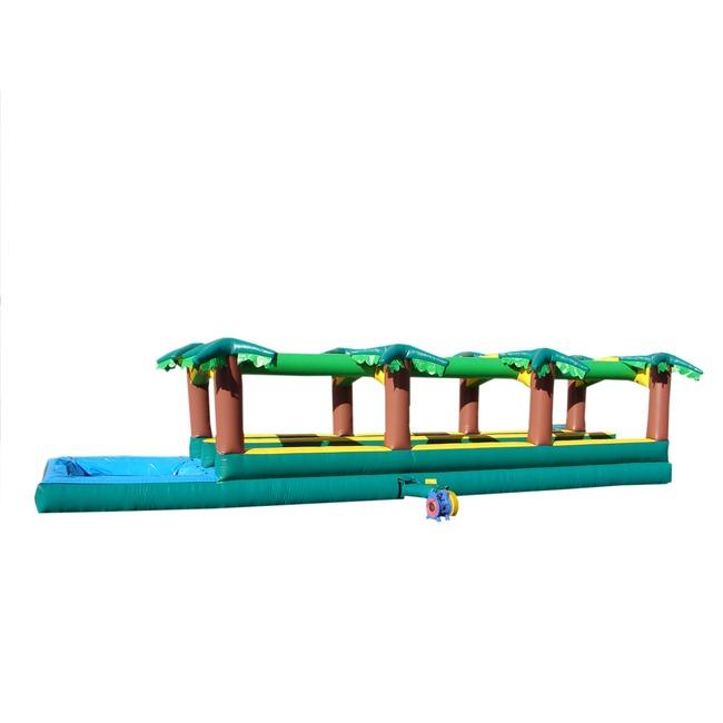 Double Lane Palm Slip-n-Slide